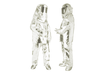 Kevlar With Aluminum Foil Fire Resistant Suit