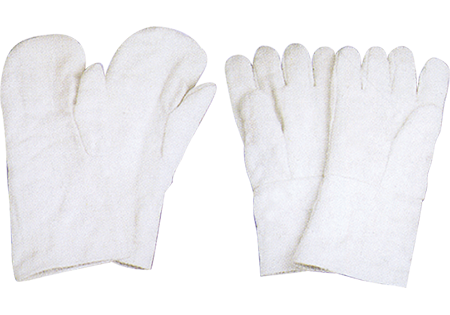 Ceramic Fiber Gloves Mitten, Finger