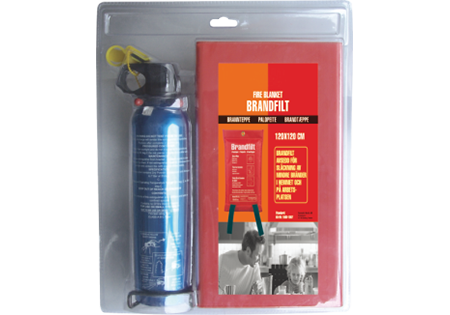 Fire Blanket & Fire Extinguisher
